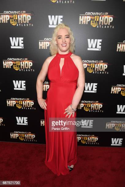 June Shannon attends 'Growing Up Hip Hop Atlanta' Atlanta Premiere at Woodruff Arts Center on May 23 2017 in Atlanta Georgia