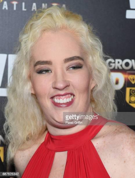 June Shannon attends 'Growing Up Hip Hop Atlanta' Atlanta Premiere at Woodruff Arts Center on May 23 2017 in Atlanta Georgia