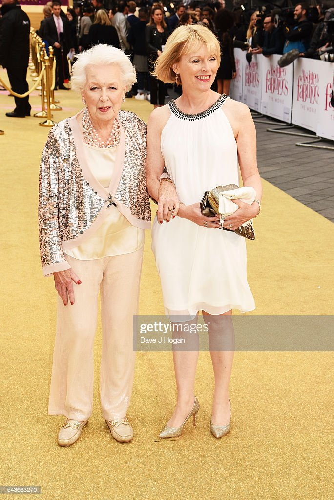 <a gi-track='captionPersonalityLinkClicked' href=/galleries/search?phrase=June+Whitfield&family=editorial&specificpeople=233735 ng-click='$event.stopPropagation()'>June Whitfield</a> attends the World Premiere of 'Absolutely Fabulous: The Movie' at Odeon Leicester Square on June 29, 2016 in London, England.