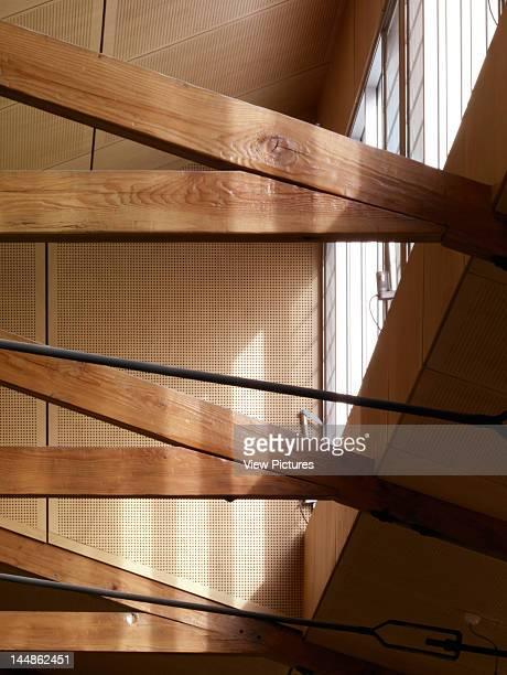 Junee Library 94 Lorne Street Junee Nsw 2663 Australia Architect Workshop 1 Dunn Hillam Achitects Detail Truss Acoustic Ceiling Roof Light