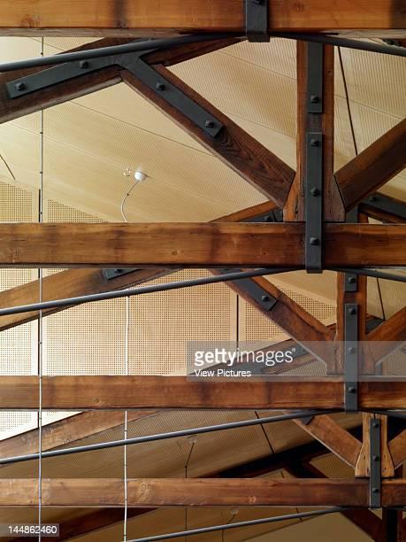 Junee Library 94 Lorne Street Junee Nsw 2663 Australia Architect Workshop 1 Dunn Hillam Achitects Detail Truss Acoustic Ceiling