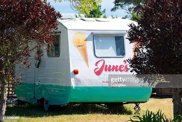 June's Real Fruit Ice Cream Caravan