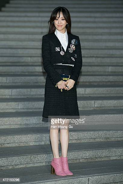 Jung RyeoWon attends the Chanel 2015/16 Cruise Collection show on May 4 2015 in Seoul South Korea