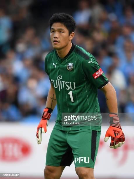 Jung Sung Ryong of Kawasaki Frontale in action during the JLeague Levain Cup semi final second leg match between Kawasaki Frontale and Vegalta Sendai...