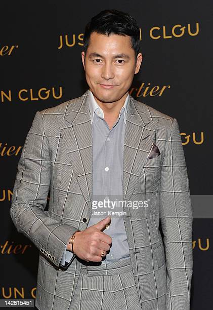 Jung Woosung attends Cartier Juste un Clou After Party at Skylight Soho on April 12 2012 in New York City