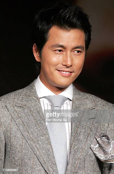Jung WooSung during 10th Pusan International Film Festival 'A Night with Daisy' Photocall at Westin Chosun Hotel in Pusan Pusan South Korea