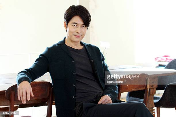 Jung WooSung poses for photographs on September 24 2014 in Seoul South Korea