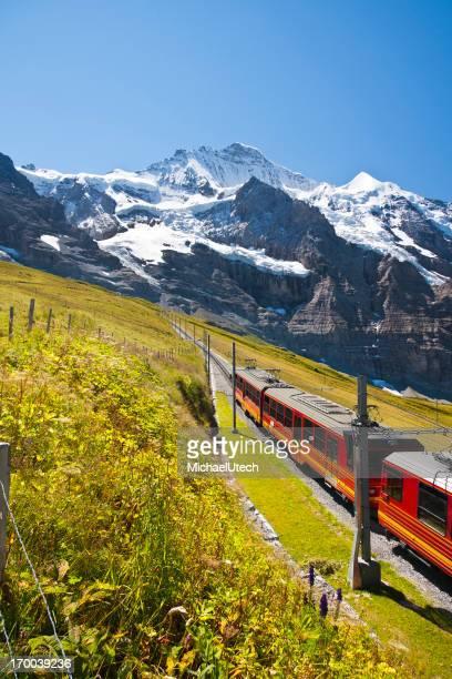 Jungfraubahn, Schweizer Alpen