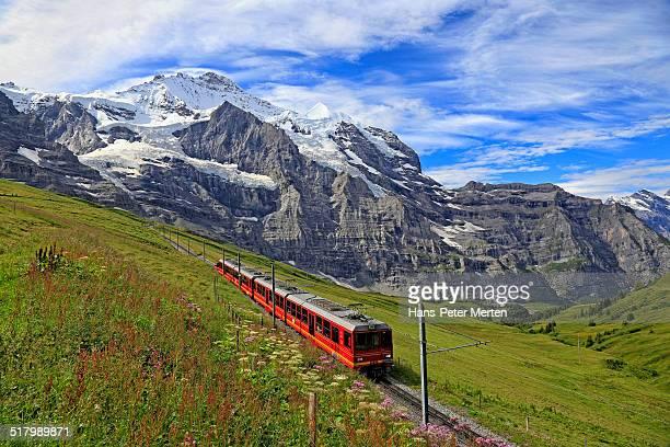 Jungfraujoch Railway, Jungfrau, Bernese Alps