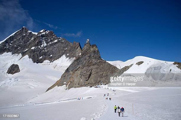 Jungfraujoch, top of Europe