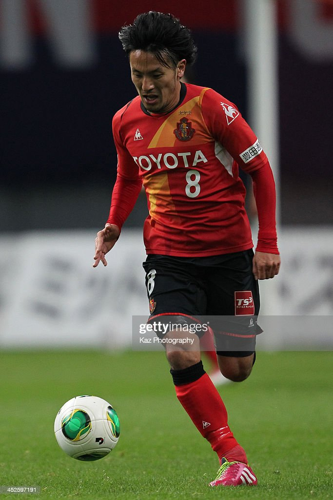 Nagoya Grampus v Ventforet Kofu - J.League 2013