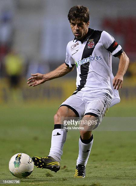 Juninho Pernambucano of Vasco in action during a match between Botafogo and Vasco as part of the Brazilian Championship Serie A at Engenhao stadium...