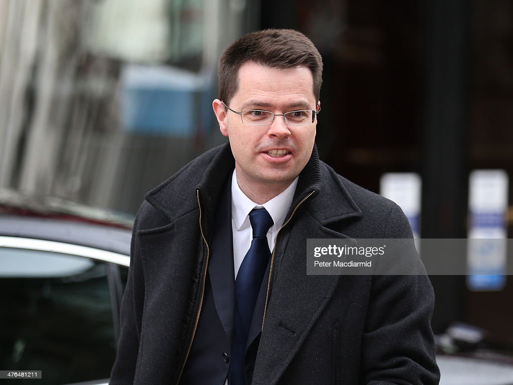 Junior Home Office minister James Brokenshire arrives at the Cabinet Office to attend a National Security Council meeting on March 3, 2014 in London, England. Prime Minister David Cameron has held the meeting to discuss the situation in Ukraine.