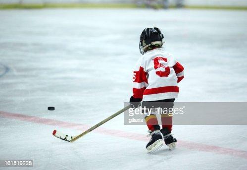 Junior ice hockey.