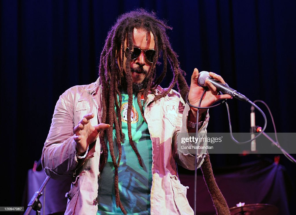 Junior Marvin of The Wailers performs at The Moore Theater on March 1, 2010 in Seattle, Washington.