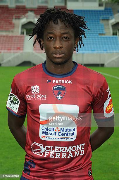 Junior MESSI ENGUENE Portraits officiels Clermont Ligue 2 Photo Jean Paul Thomas / Icon Sport/MB Media