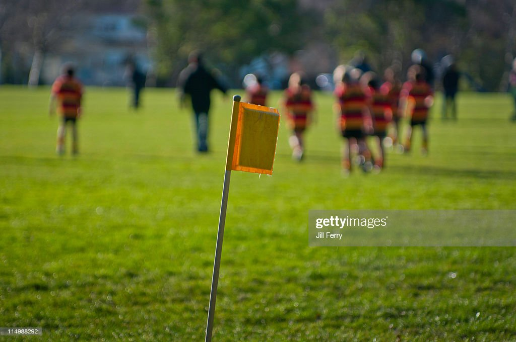Junior rugby : Stock Photo