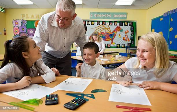 junior school: enjoying class