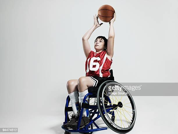 Junior rotelle Giocatore di basket