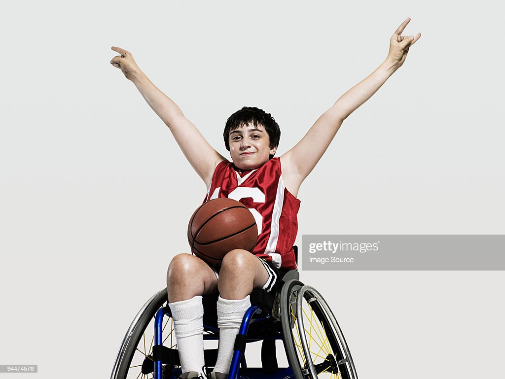 junior wheelchair basketball player stock photo getty images