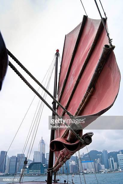 Junk Boat Sail