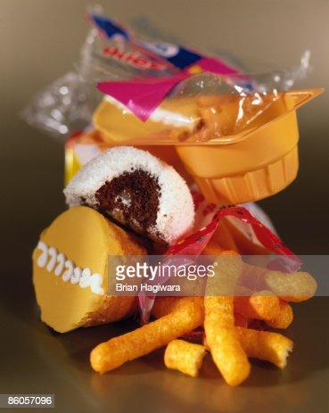 Junk food : Stockfoto