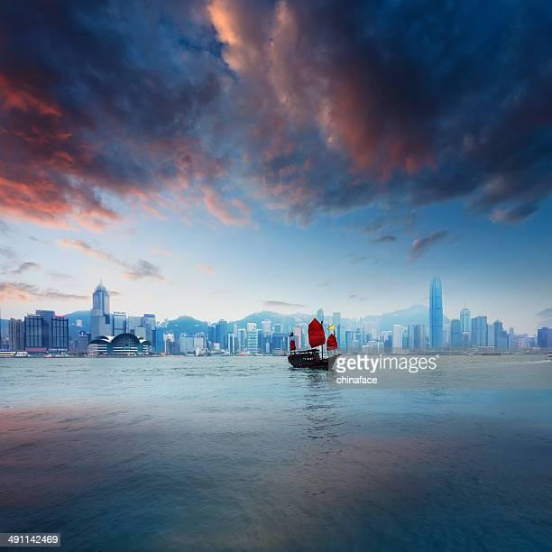 Junkboat  of hong kong