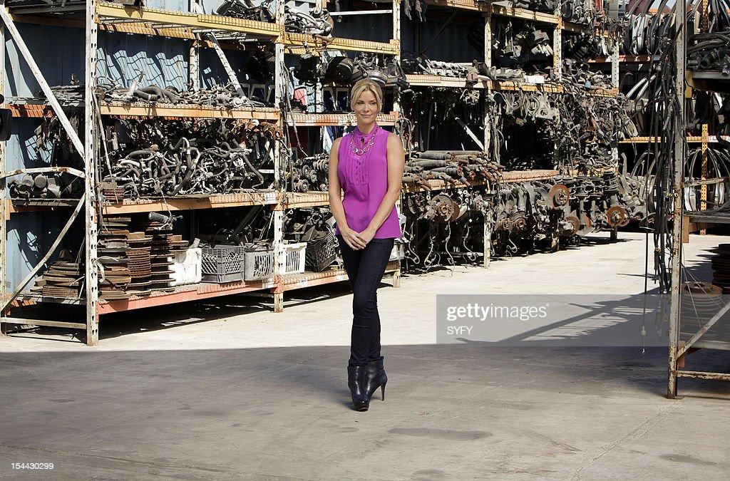 OFF -- 'Junkyard Cyborg' Episode 309 -- Pictured: Host McKenzie Westmore --