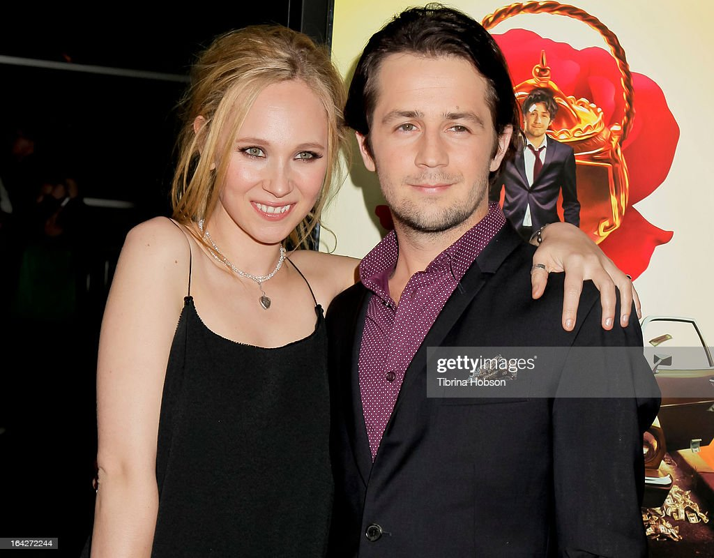 Juno Temple and Michael Angarano attend 'The Brass Teapot' Los Angeles special screening at ArcLight Hollywood on March 21, 2013 in Hollywood, California.