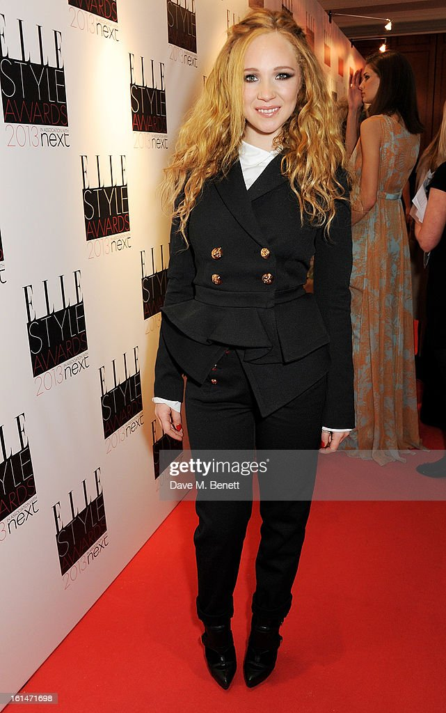 Juno Temple arrives at the Elle Style Awards at The Savoy Hotel on February 11, 2013 in London, England.