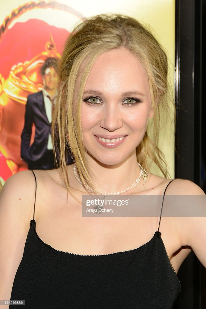 Juno Temple arrives at the LA screening of Magnolia Pictures' 'The Brass Teapot' at ArcLight Hollywood on March 21, 2013 in Hollywood, California.
