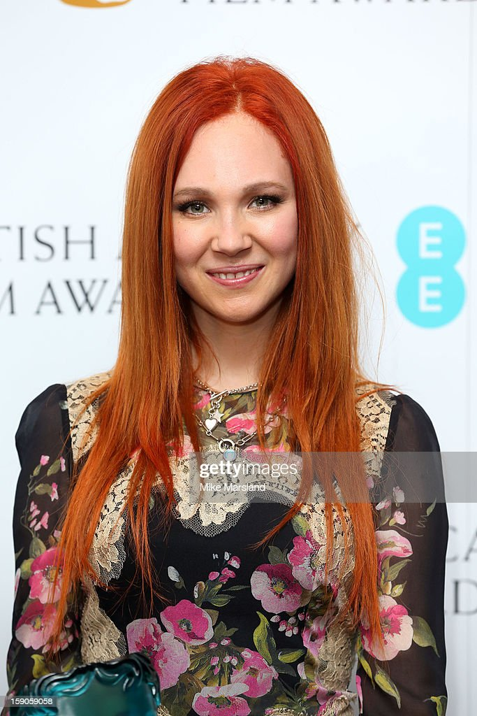 Juno Temple attends a photocall to announce the nominations for the EE Rising Star Award on January 7, 2013 in London, England.