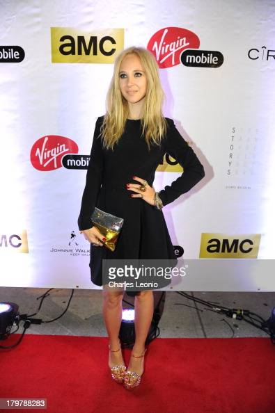 Juno Temple attends Mobile Arts Cinema Centre's 'Horns' after party during the 2013 Toronto International Film Festival at Storys on September 6 2013...