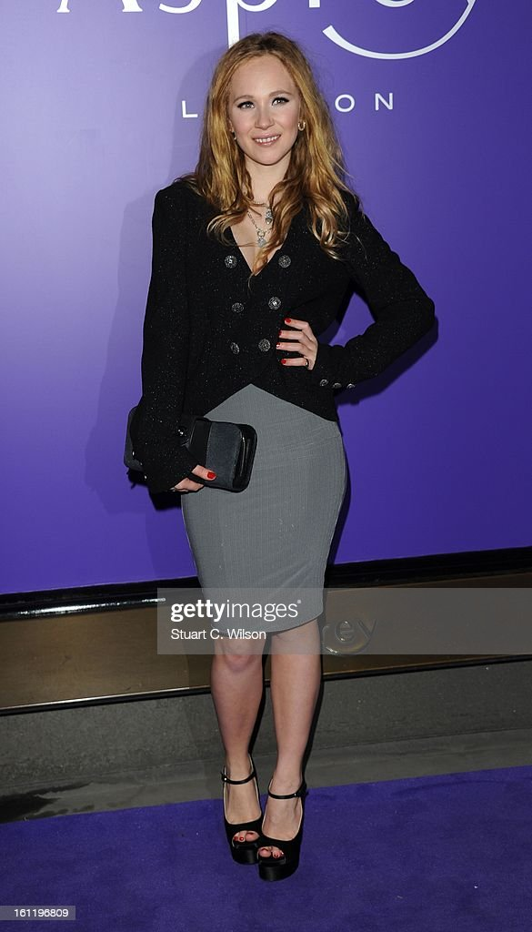 Juno Temple attends the EE British Academy Film Awards nominees party at Asprey London on February 9, 2013 in London, England.
