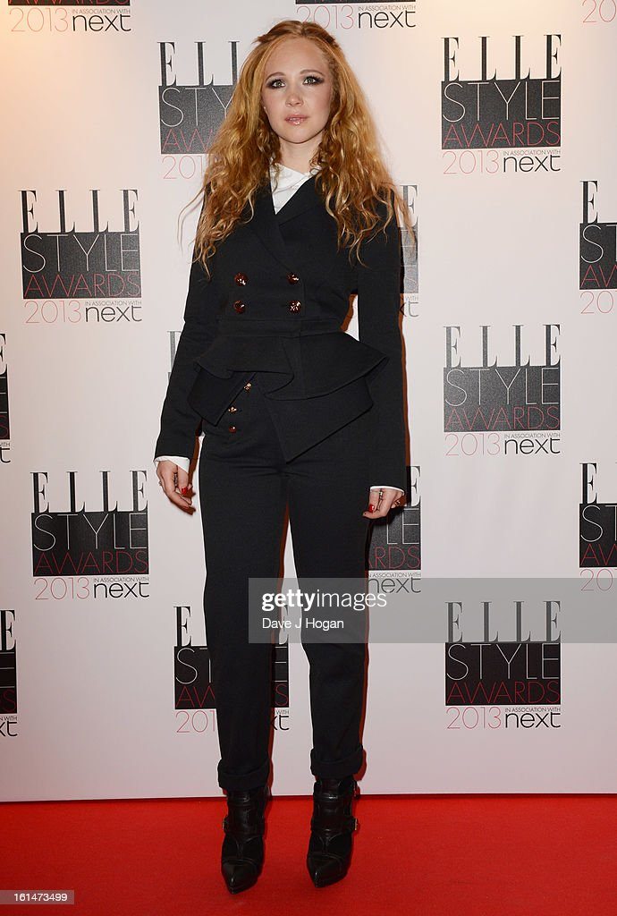 Juno Temple attends The Elle Style Awards 2013 at The Savoy Hotel on February 11, 2013 in London, England.