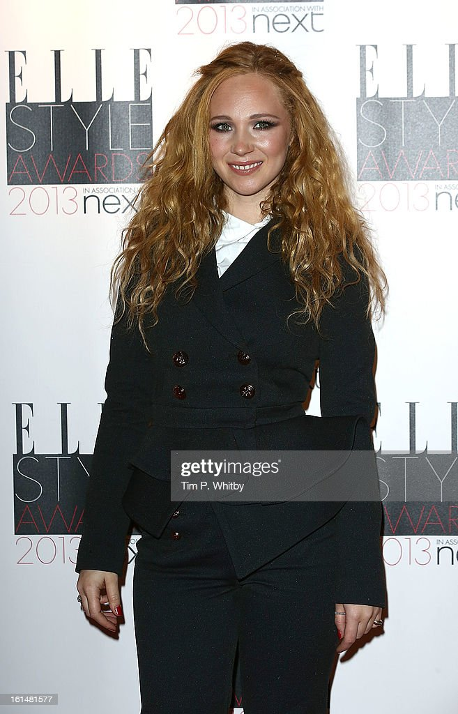 Juno Temple attends the Elle Style Awards at Savoy Hotel on February 11, 2013 in London, England.