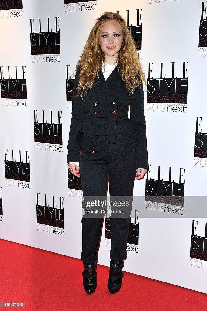 Juno Temple attends the Elle Style Awards at The Savoy Hotel on February 11, 2013 in London, England.