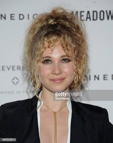 Juno Temple attends the 'Meadowland' New York premiere at Sunshine Landmark on October 11 2015 in New York City