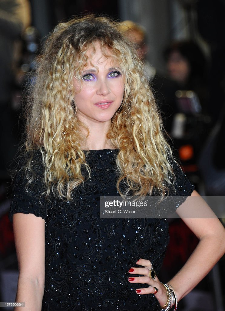 Juno Temple attends the UK Premiere of 'Horns' at Odeon West End on October 20 2014 in London England