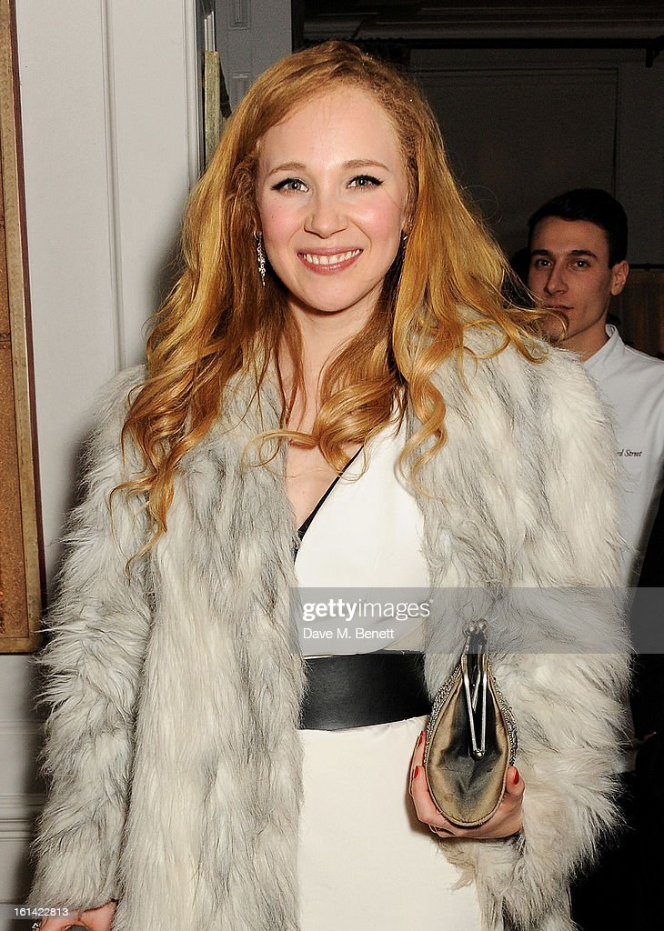 Juno Temple attends The Weinstein Company and Entertainment Film Distributors Post-BAFTA Party hosted by Chopard and Grey Goose at LouLou's on February 10, 2013 in London, England.