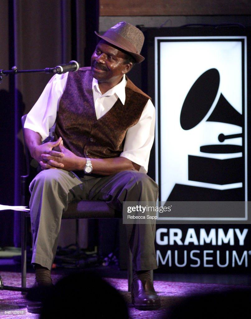 Junor Francis moderates History of LA Ska at The GRAMMY Museum on September 13, 2017 in Los Angeles, California.