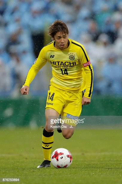 Junya Ito of Kashiwa Reysol in action during the JLeague J1 match between Kashiwa Reysol and Jubilo Iwata at Hitachi Kashiwa Soccer Stadium on...