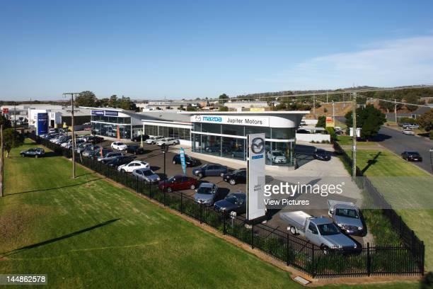 Jupiter Motors Urana Street Wagga Wagga New South Wales Australia Architect Workshop 1 Dunn Hillam Achitects Exterior At High Level Car Dealership...