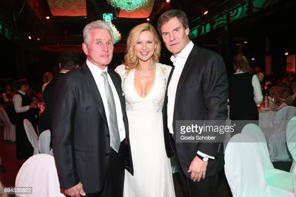 Jupp Heynckes Veronica Ferres and her husband Carsten Maschmeyer during the Toni Kroos charity gala benefit to the Toni Kroos Foundation at 'The...