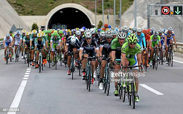 Juraj Sagan of Slovakia and Cannondale in action during the 2nd stage of the 50th Presidential Cycling Tour a 175 km stage from Alanya to Kemer on...