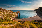 Geologically important and stunningly beautiful Dorset coastline