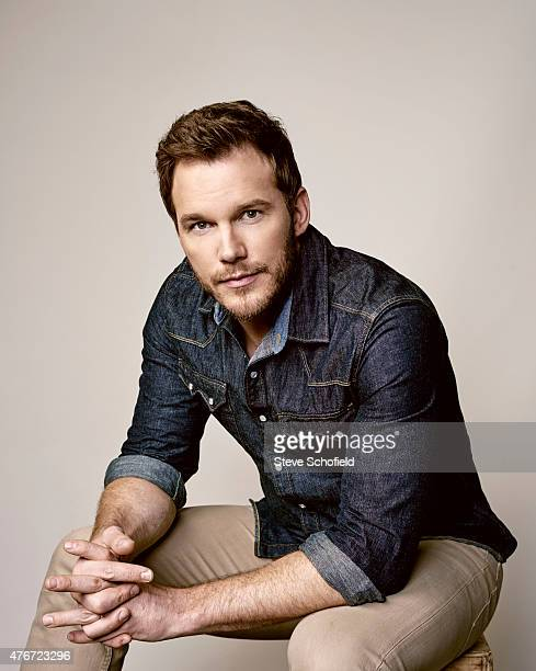 'Jurassic World' actor Chris Pratt is photographed for Wonderwall on June 5 2015 in Burbank California PUBLISHED IMAGE