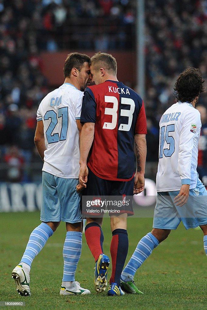 Genoa CFC v S.S. Lazio - Serie A