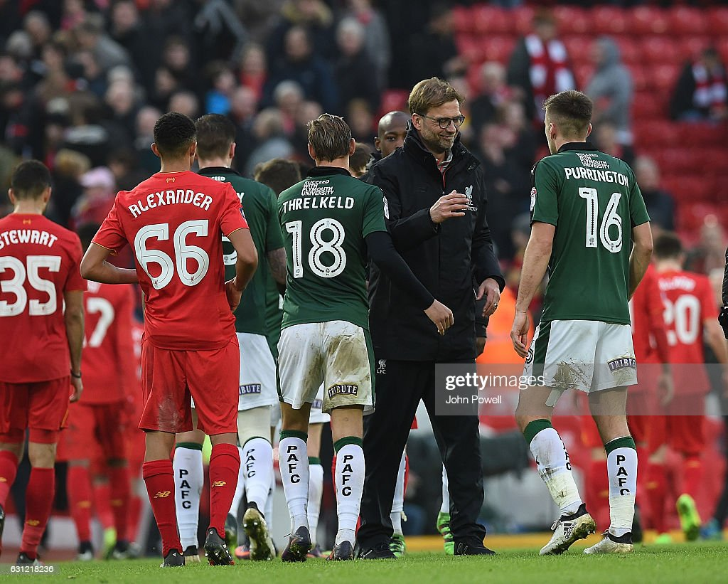 Liverpool v Plymouth Argyle - The Emirates FA Cup Third Round : News Photo