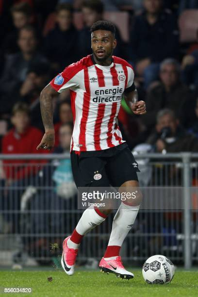 Jurgen Locadia of PSV during the Dutch Eredivisie match between PSV Eindhoven and Willem II at the Phillips stadium on September 30 2017 in Eindhoven...
